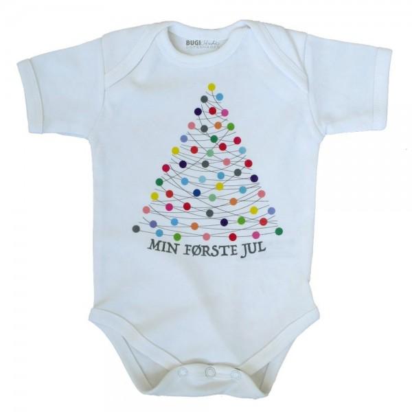 Baby Body korte ærmer XMAS