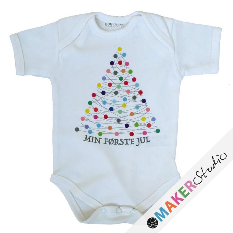 Baby onsie short sleeve XMAS