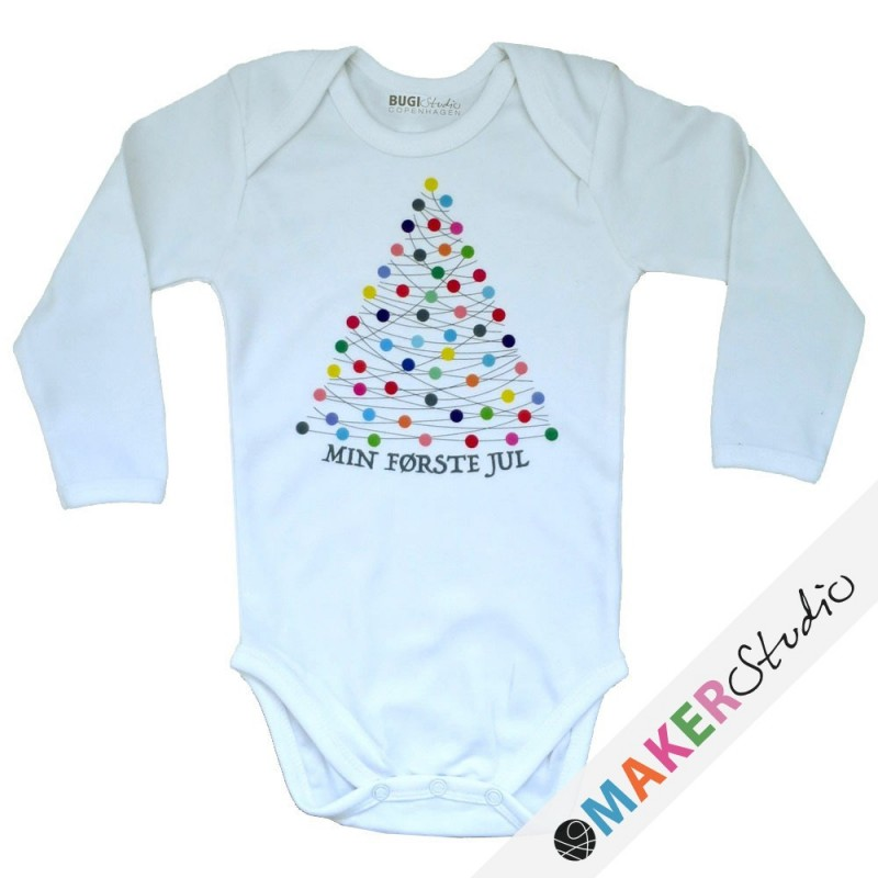 Baby onsie long sleeve XMAS
