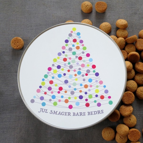 Round Metal box variation XMAS