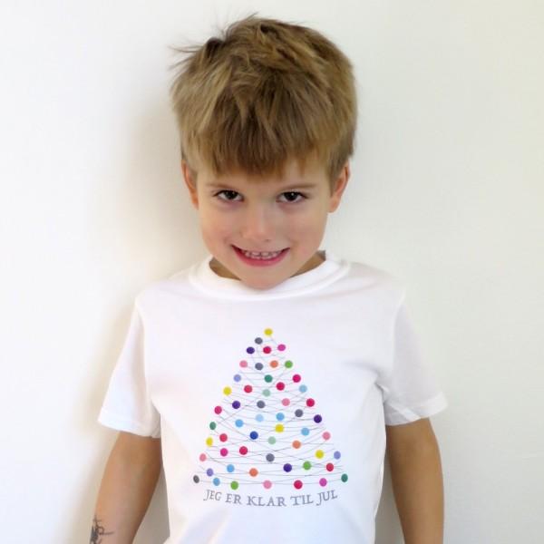 Børne T-shirt XMAS