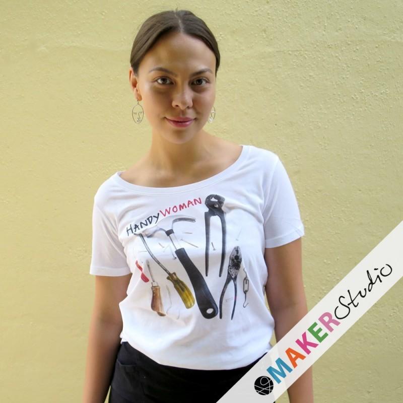 T-shirt HANDYWOMAN