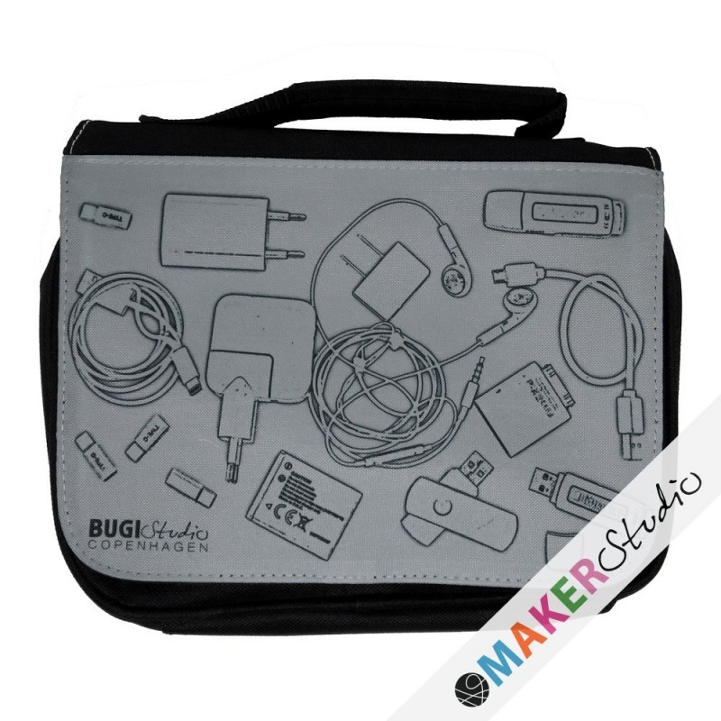 Double cable bag X-RAY
