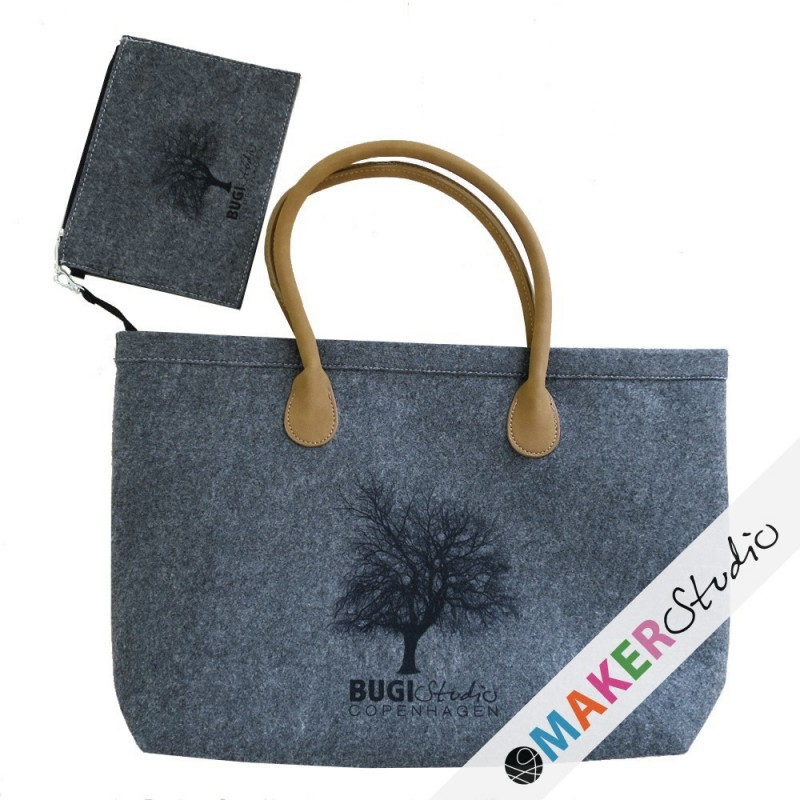 Felt bag with wallet WILLOW