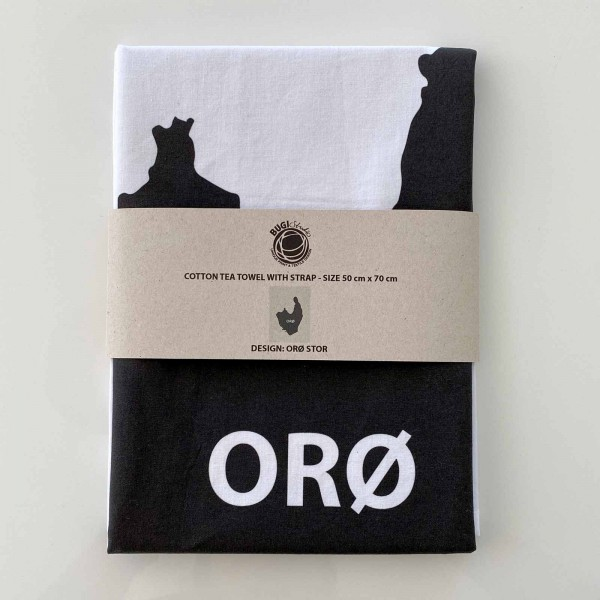 Tea towel ORØ big