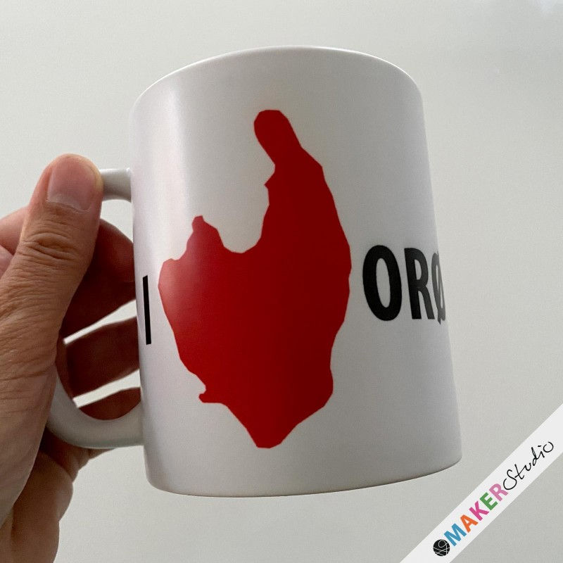Mug I love Orø