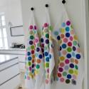 Tea towel ORØ dots