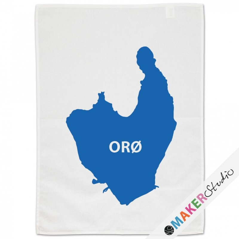 Tea towel ORØ big