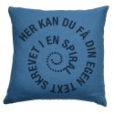 Pillow text SPIRAL