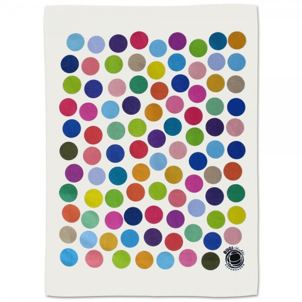 Tea towel DOTS