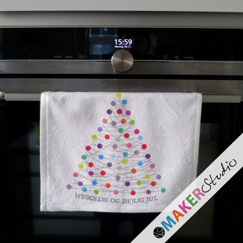 Kitchen Oven Towel XMAS